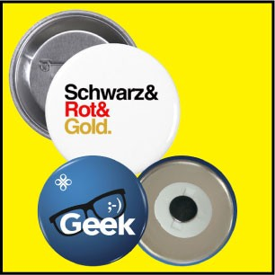 Promotional Buttons With Pin Back