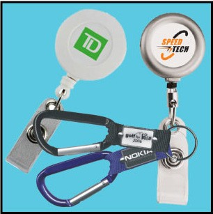Retractable Badge Holders & Carabiners