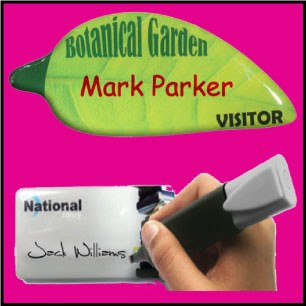 Domed Name Badges & Advertising Badges